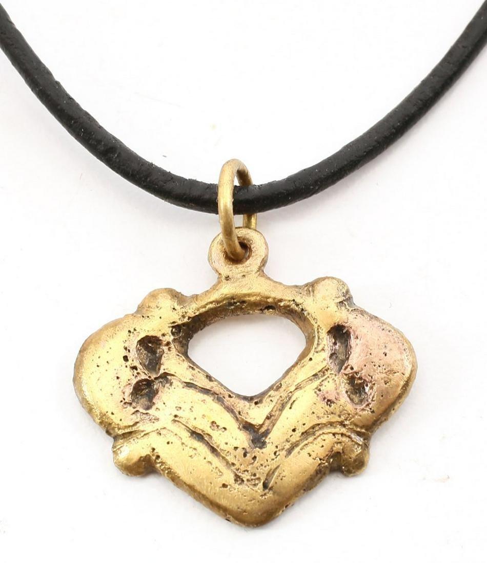 VIKING HEART PENDANT 900-1050 AD.