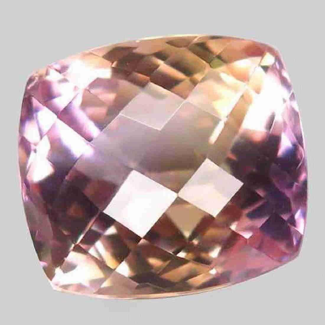 13,77 ct Natural Bi Color Ametrine 13,77 ct