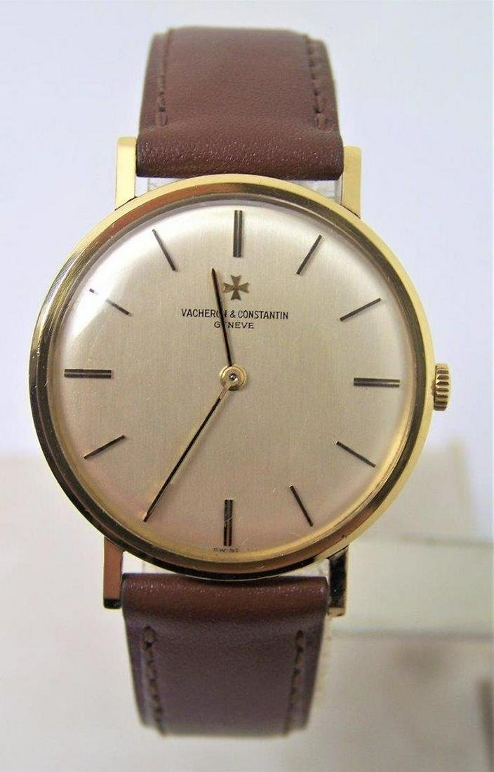 Vintage 18k Gold VACHERON CONSTANTIN Mens Winding Watch