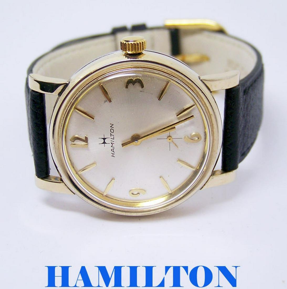 Vintage 10k GF HAMILTON Winding Watch c.1970s Cal.639