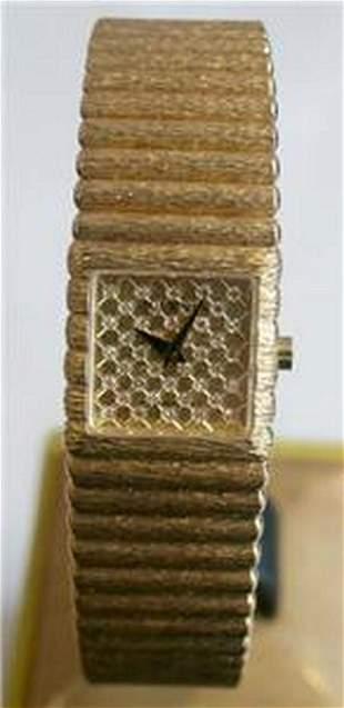 New 18k Gold JUVENIA Ladies watch with 025 ct Diamonds