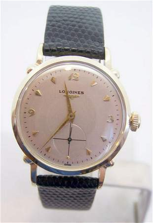 Vintage Solid 14k LONGINES Automatic Watch 1960s