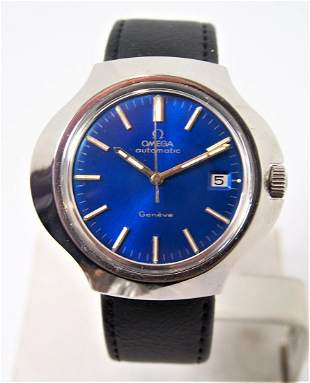 Vintage OMEGA GENEVE Automatic Watch 1970s Cal1012