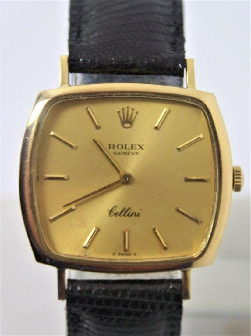 Vintage Unsex 18k ROLEX CELLINI Winding Watch c.1980s