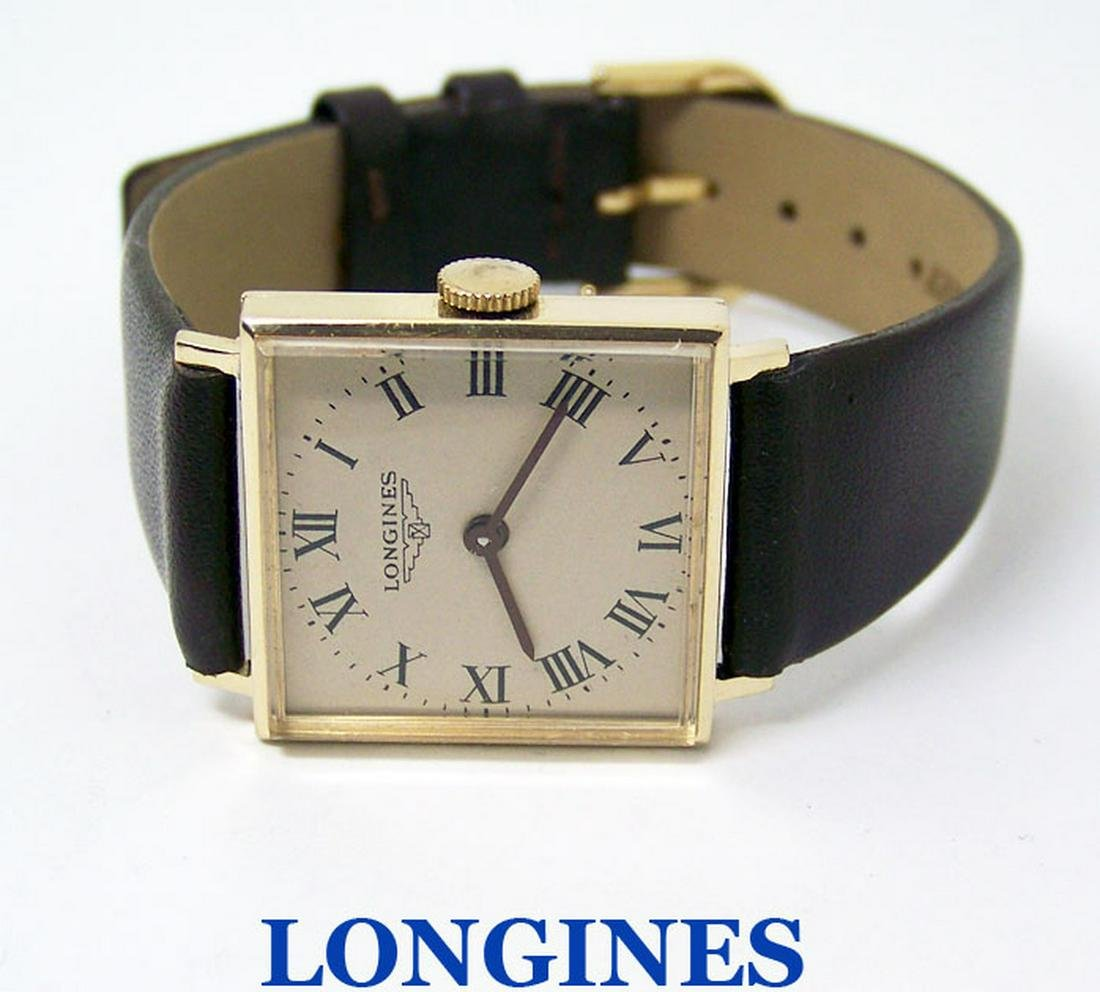 Vintage Solid 14k LONGINES Winding Watch 1960s R6042