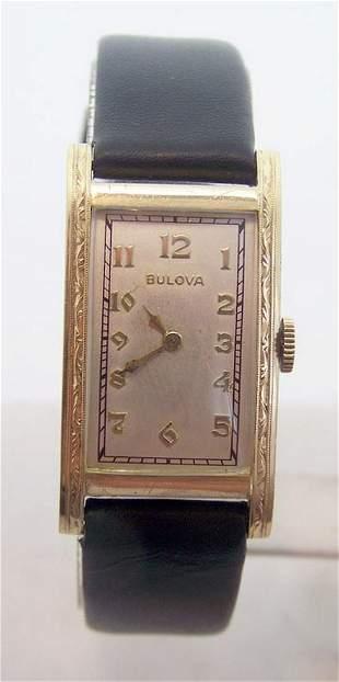 Vintage Mens 14k BULOVA Winding Mens Watch c.1930