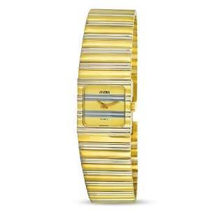 New 18k Gold Two Tone JUVENIA Ladies Polo watch