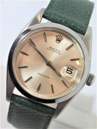 Vintage Mens ROLEX OYSTER PRECISION Ref 6694 Winding