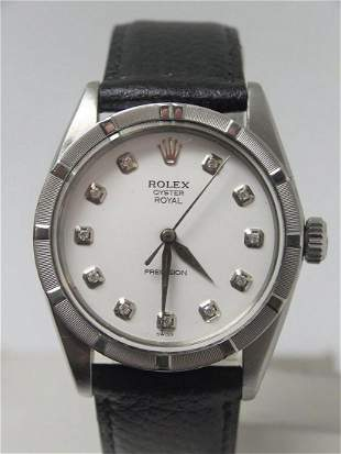 Vintage ROLEX OYSTER ROYAl PRECISION Ref 6426 Winding