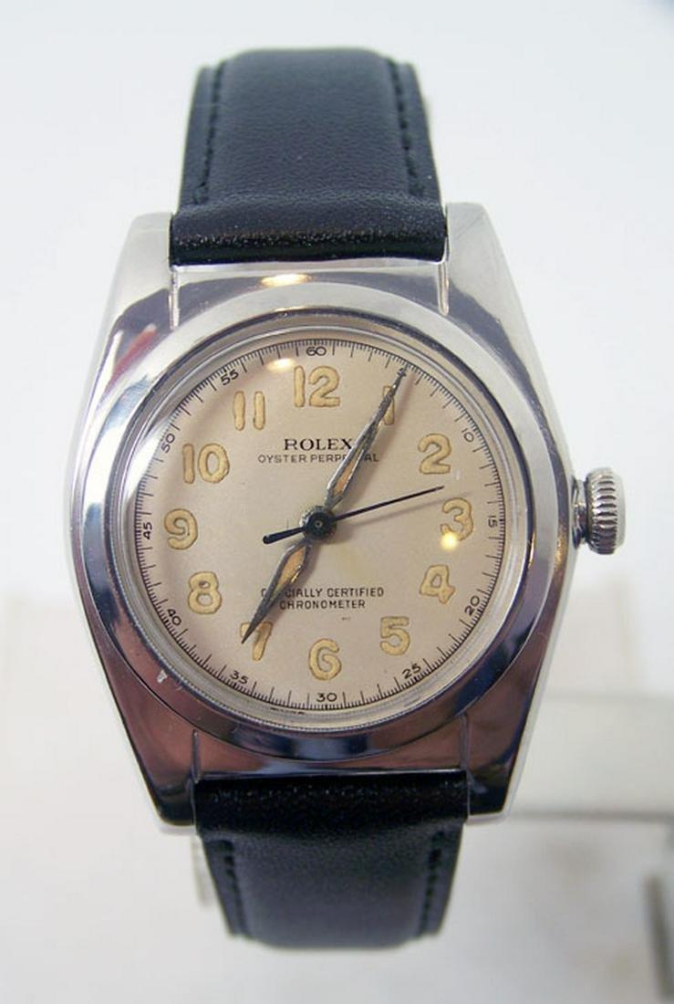 Vintage S/Steel ROLEX Bubble Back Automatic Watch