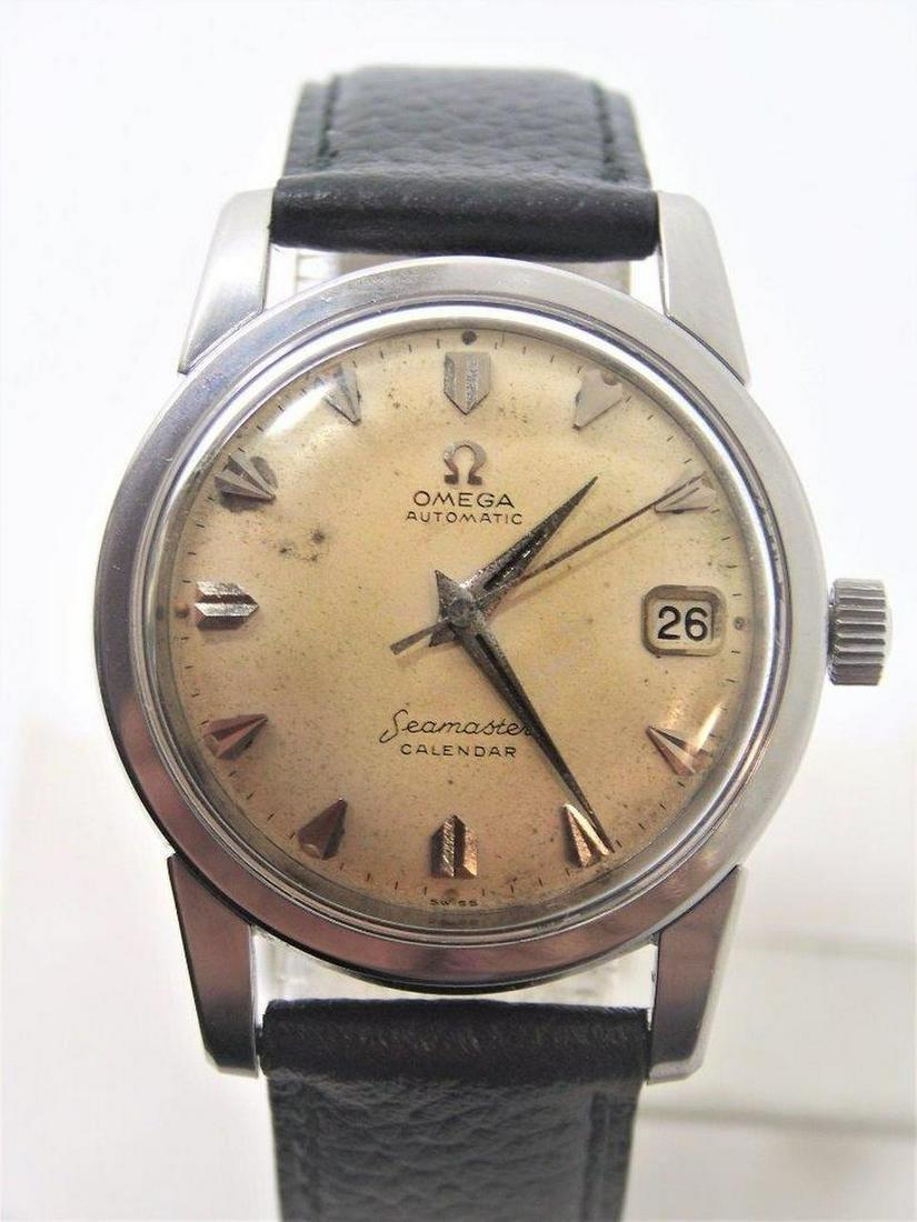 Vintage S/Steel OMEGA SEAMASTER CALENDAR Automatic