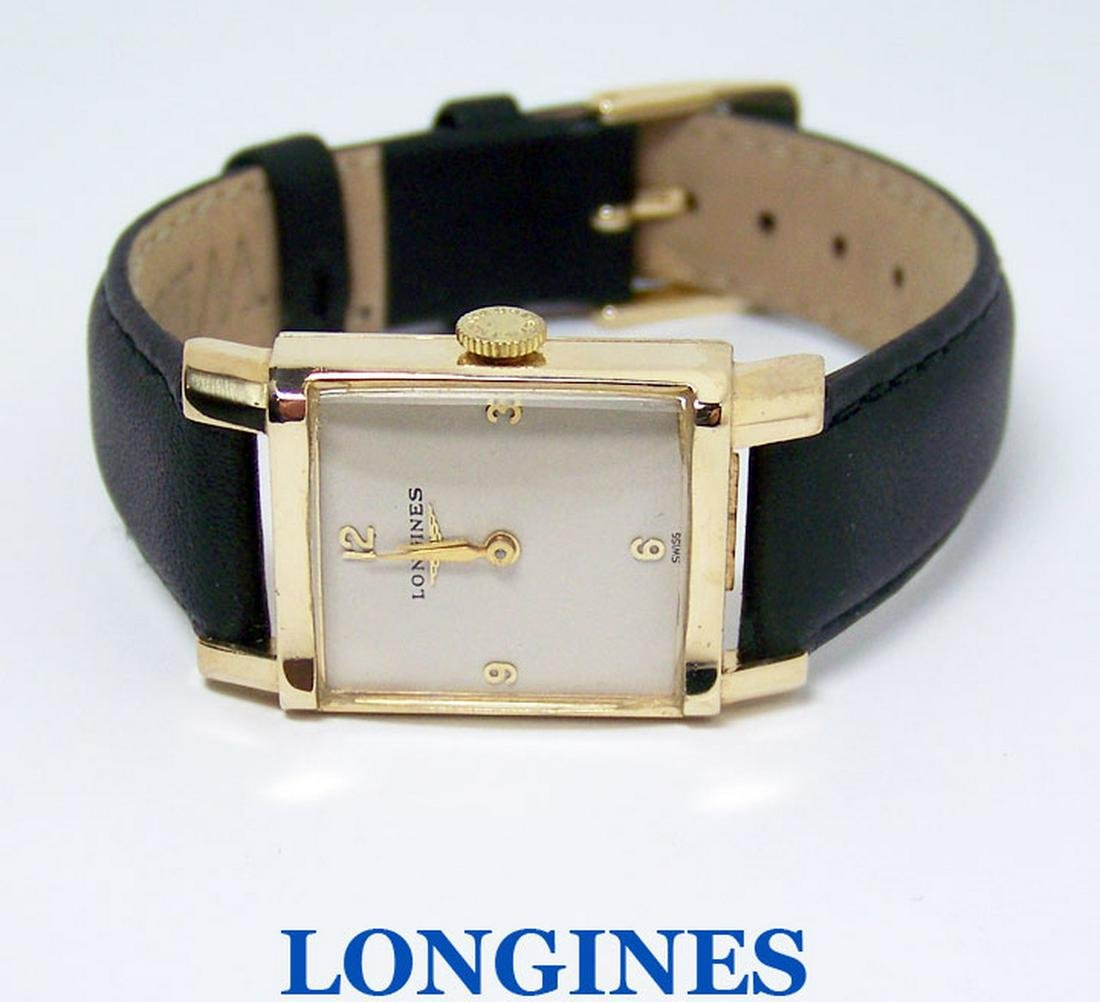Vintage Solid 14k Unisex LONGINES Winding Watch c.1960s
