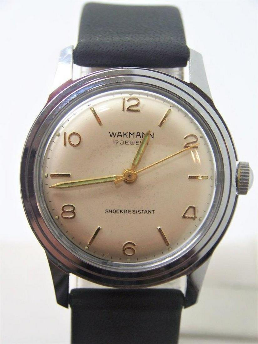 Vintage WAKMANN Winding Watch 1960s EXLNT Condition