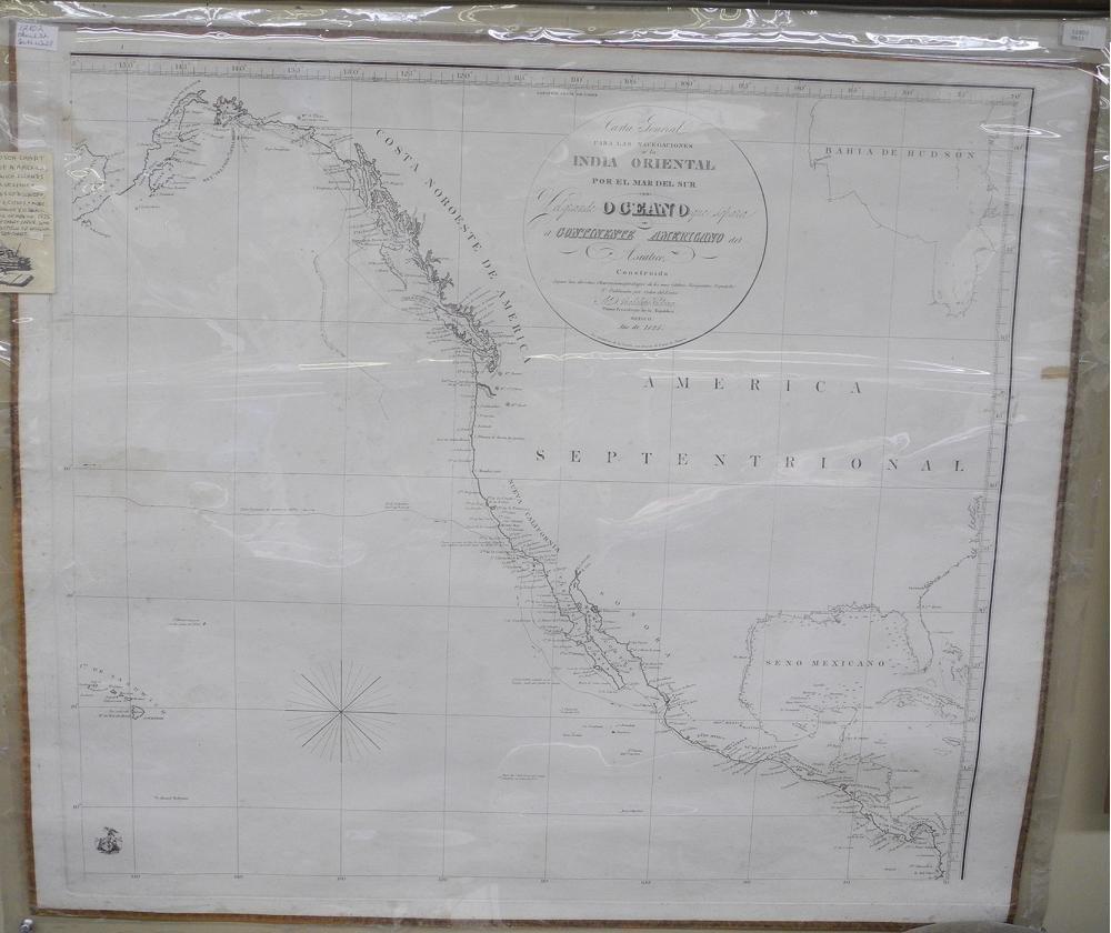 Carta General Para Las Navegaciones a La India Oriental