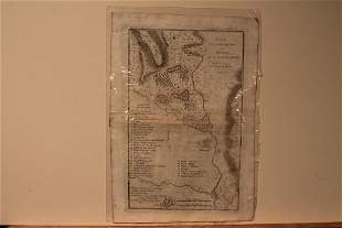 1788 Map of Ancient Sparta