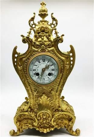 Bronze antique clock
