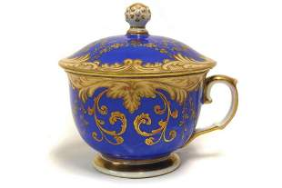 Cup with lid Loket Elbogen Bohemia