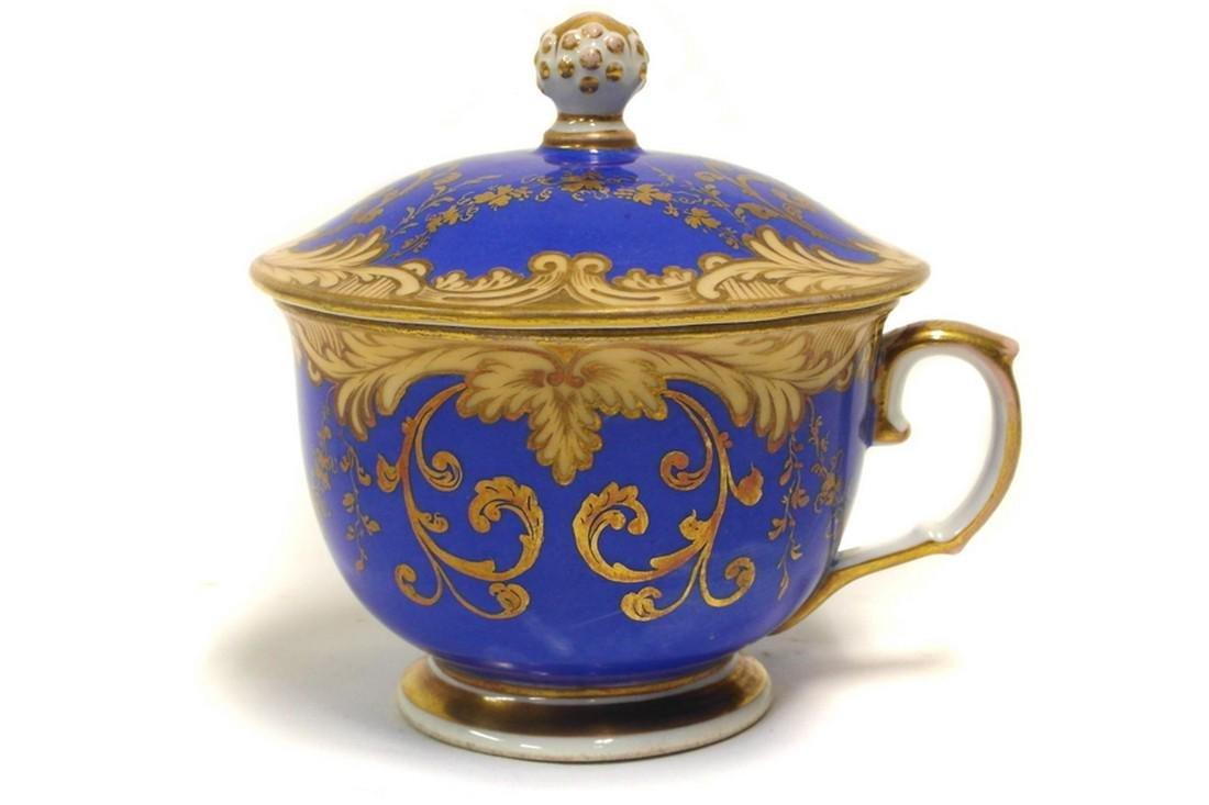 Cup with lid Loket (Elbogen), Bohemia