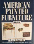 """Book """"American Painted Furniture"""", 300 pages, B/W and"""