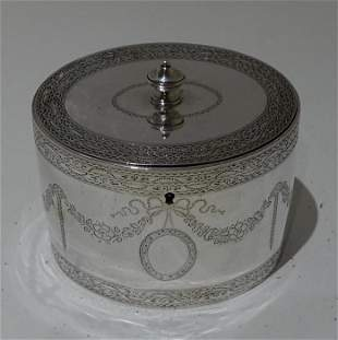 18th Century Antique George III Sterling Silver Tea