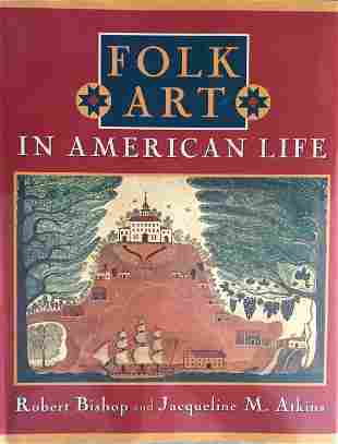 Book Folk Art in American Life 228 pages BW and
