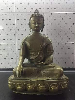 Vintage China Buddha Tebete