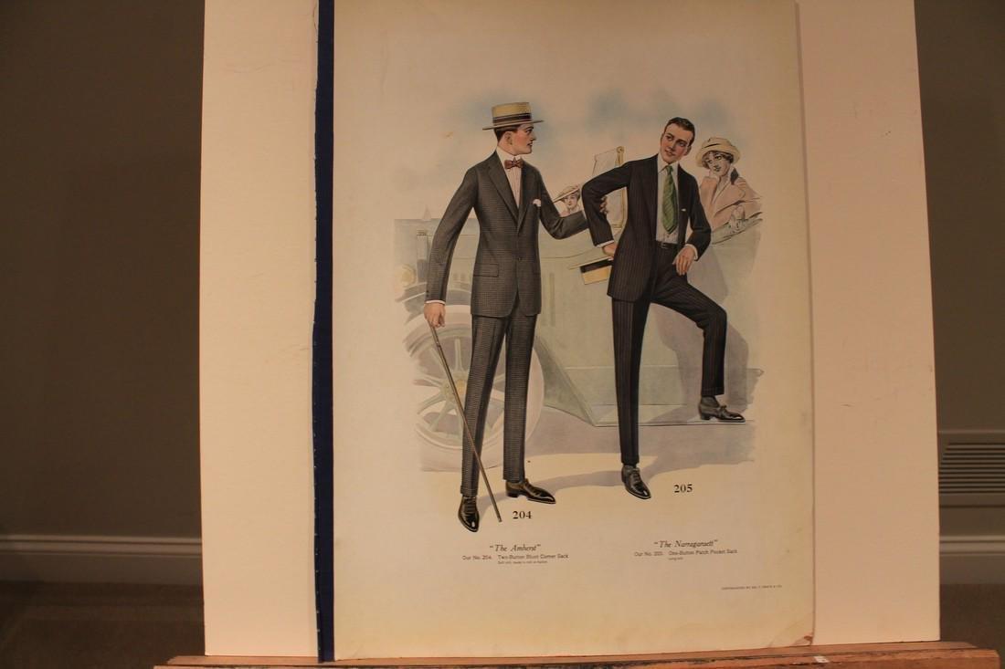 1916 Fashion print