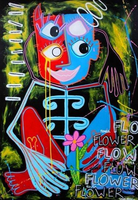 Chloé Kelly Miller - Une fleur pour toi - Signed -