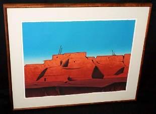US SW Litho Print Talavie Hopi Dan Namingha