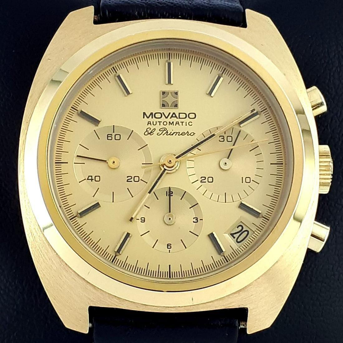 Movado - El Primero Automatic Chronograph - ref: