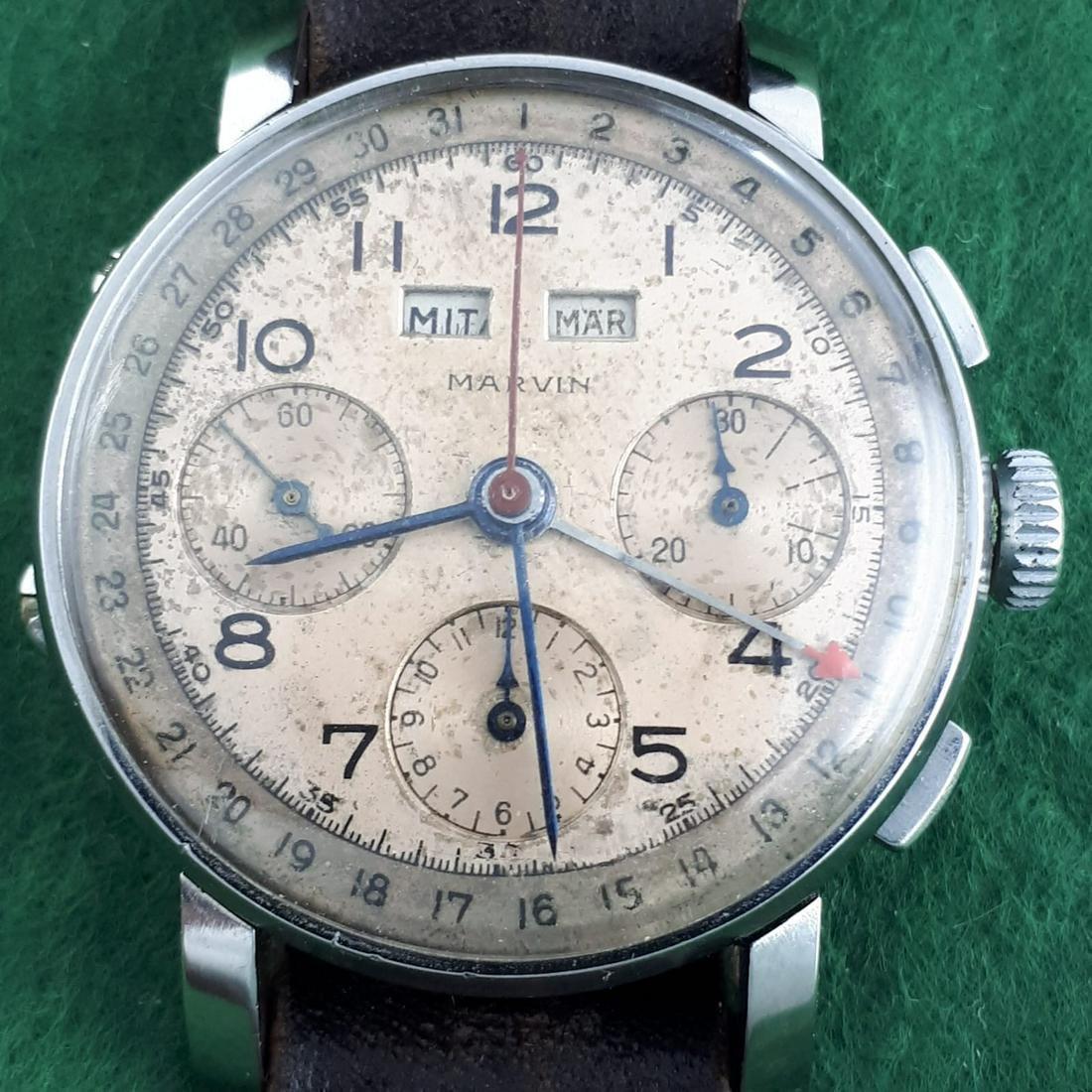 MARVIN - Vintage Chronograph Triple Date - Men -