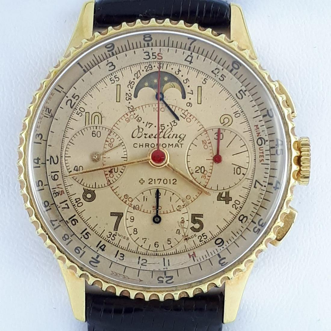 Breitling - Chronomat 801 Moon Phase Triple Date - Men