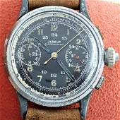 JARDUR - Vintage WW2 Military Chronograph - Ref: 818 -