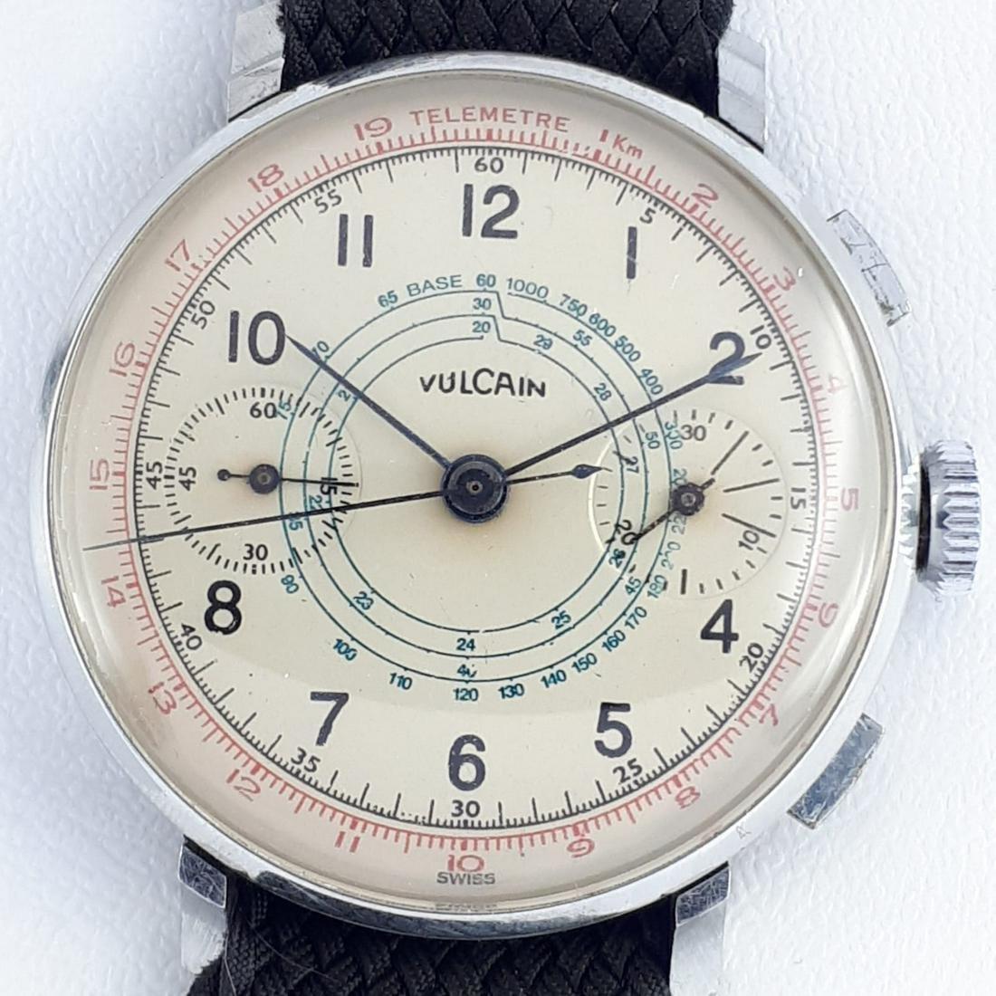 Vulcain - Vintage Chronographe - Ref: 51255 - Men -