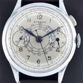 Eterna - Vintage Mono-Push Chronographe - Men -