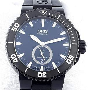 Oris - Aquis Titan Small Second Automatic - ref: 7674 -