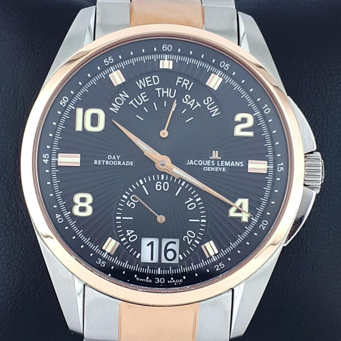 Jaques Lemans - Diver Chronographe ( Swiss Made) - ref: