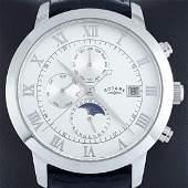 Rotary Moonphase Automatic Chronographe ref PLO