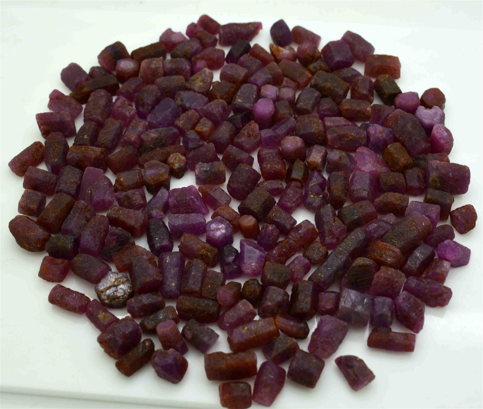 170 Grams Beautiful Rough Ruby Crystals