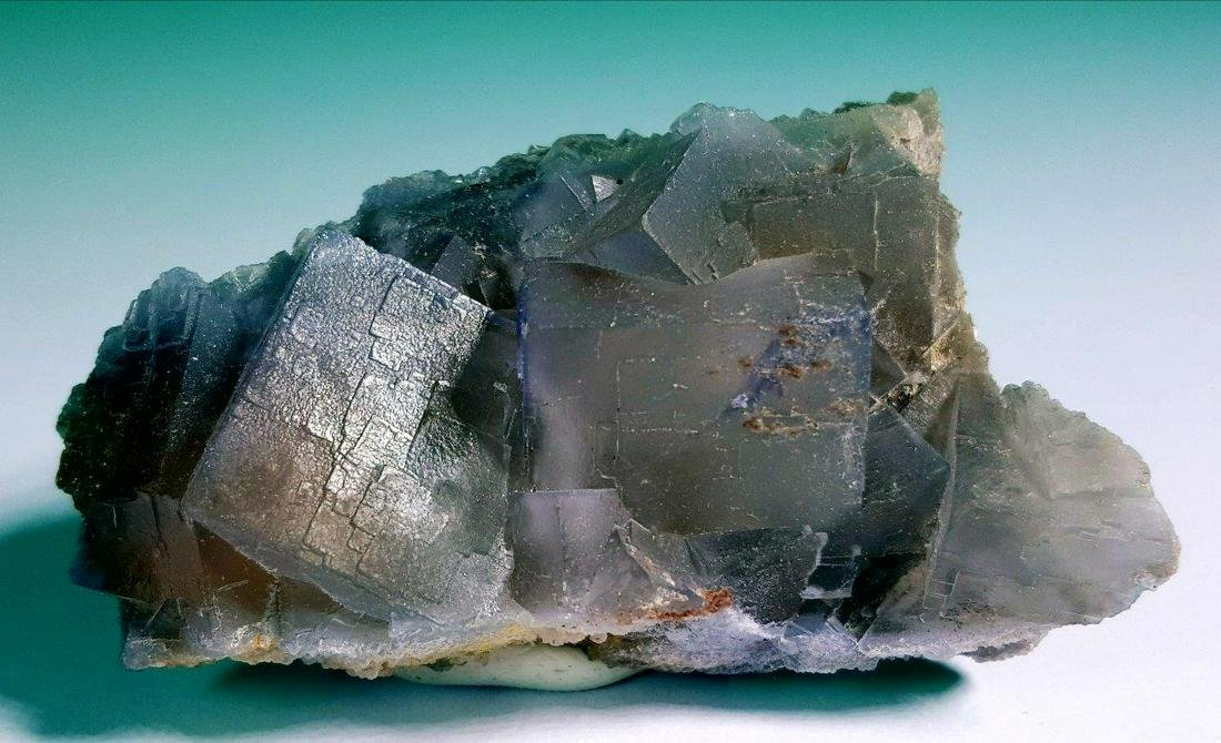 75.3 Grams CUBIC FLUORITE MINERAL FROM BALUCHISTAN