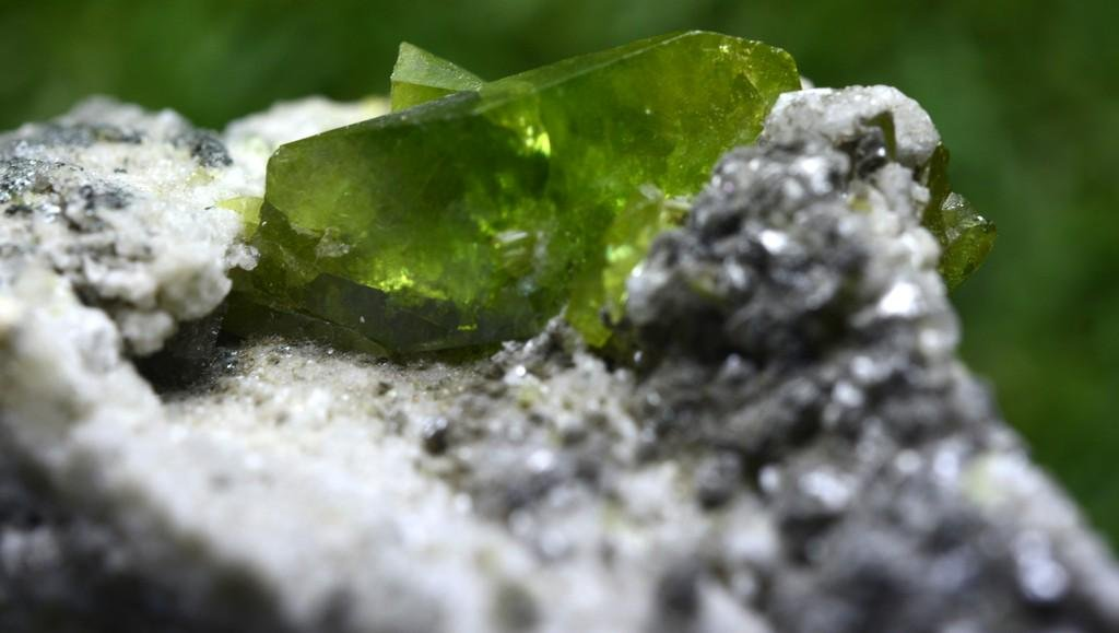 41 Grams Beautiful Rare Green Sphene Specimen