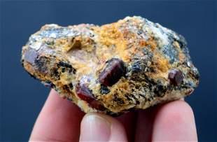 80 Grams Zircon Crystal On Matrix From Baluchistan