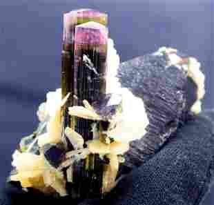 Tourmaline Specimen Tri Color Tourmaline Crystals