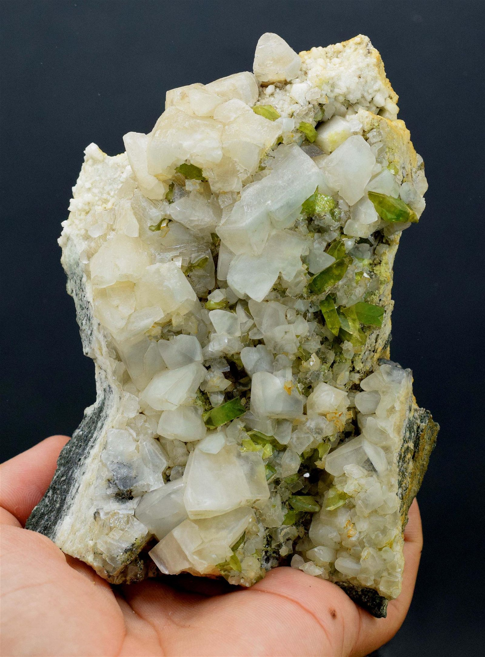 808 Grams Top Grade Green Color Tantalite Sphene With