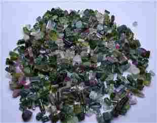 100 Gram Beautiful Tourmaline Mix Crystals