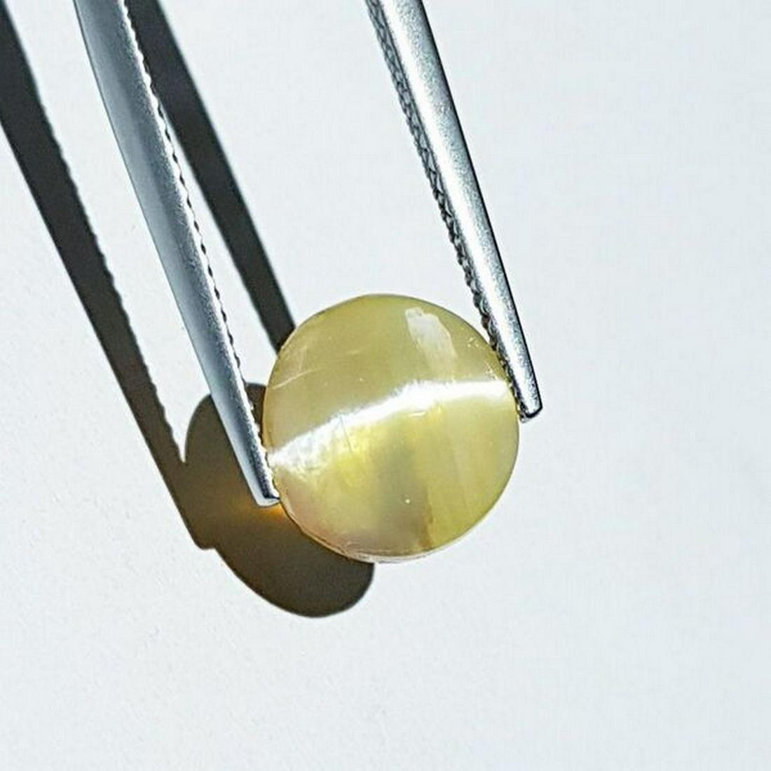 3.45 ct Natural Opal Cat's Eye