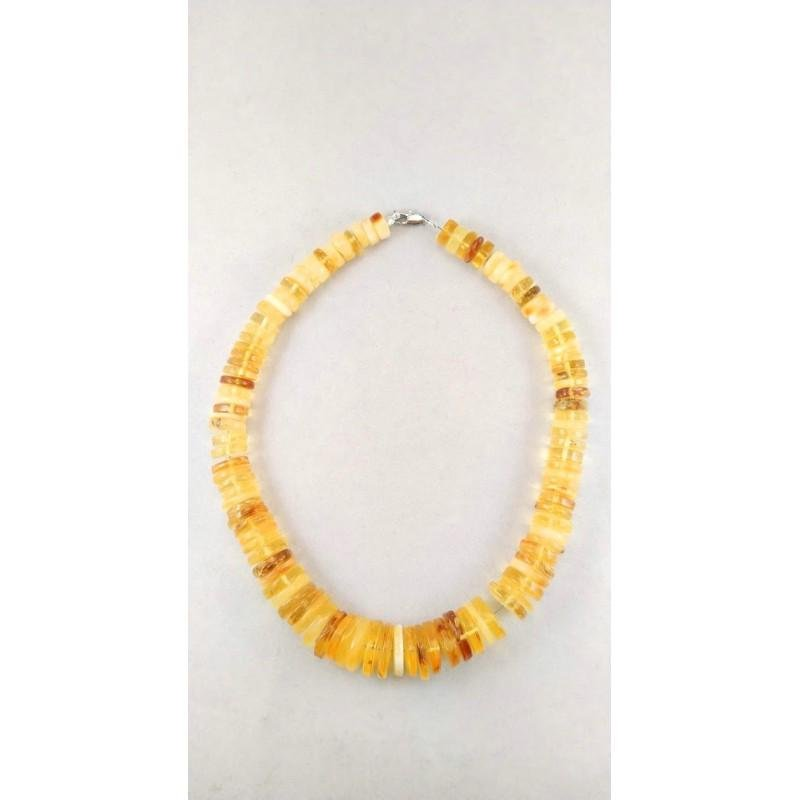 75 gram Necklace from 100% natural Baltic amber button