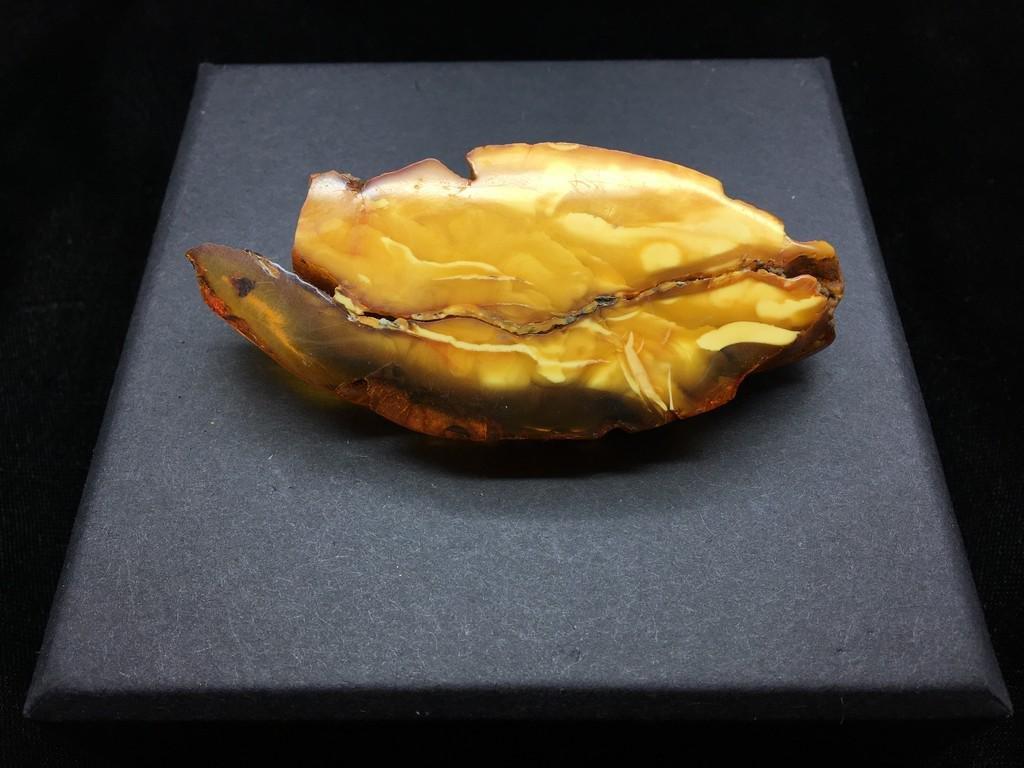 Marvellous Unique Vintage Amber Brooch