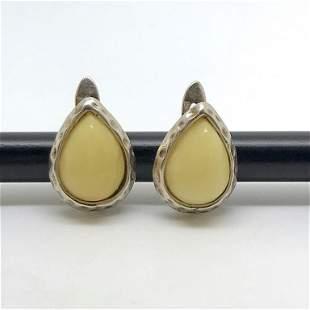 Marvellous Amber Earrings