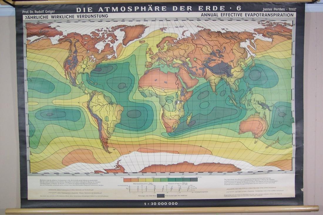 Die Atmosphare Der Erde -6- (annual Effective